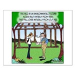 Environmentally Sound House Small Poster