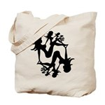 Mudflap Girl Fractal Tote Bag
