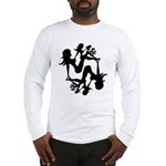 Mudflap Girl Fractal Long Sleeve T-Shirt