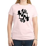 Mudflap Girl Fractal Women's Light T-Shirt