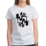 Mudflap Girl Fractal Women's T-Shirt