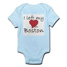 I left my heart in Boston Infant Bodysuit
