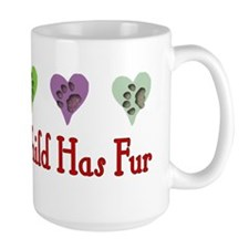 Furry Grandchild Mug