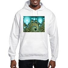"""""""Treasure"""" Fractal Art Hoodie Sweatshirt"""