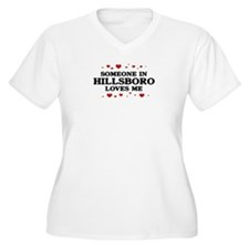 Loves Me in Hillsboro Women's Plus Size V-Neck T-S