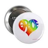 "Grace (Rainbow Heart) 2.25"" Button (10 pack)"