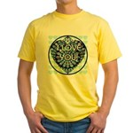 I LOVE YOU! Yellow T-Shirt