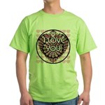 I LOVE YOU! Green T-Shirt