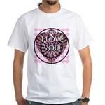 I LOVE YOU! White T-Shirt