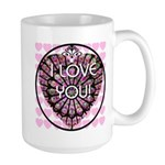 I LOVE YOU! Large Mug