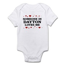Loves Me in Dayton Infant Bodysuit
