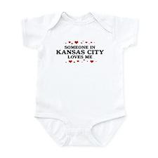 Loves Me in Kansas City Infant Bodysuit