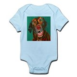 Chocolate Lab Infant Bodysuit
