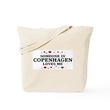 Loves Me in Copenhagen Tote Bag