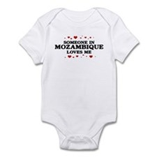 Loves Me in Mozambique Infant Bodysuit