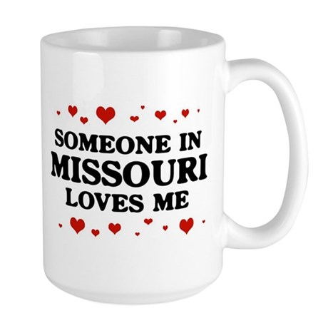 Loves Me in Missouri Large Mug