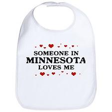 Loves Me in Minnesota Bib