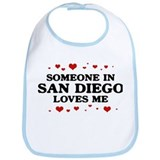 Loves Me in San Diego Bib