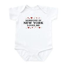 Loves Me in New York Infant Bodysuit