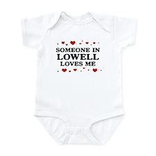 Loves Me in Lowell Onesie