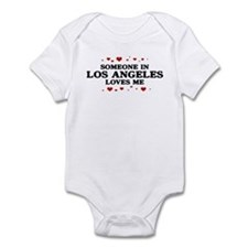 Loves Me in Los Angeles Infant Bodysuit