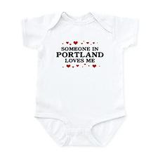 Loves Me in Portland Infant Bodysuit