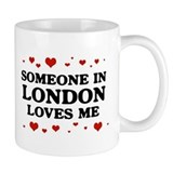 Loves Me in London Small Mug