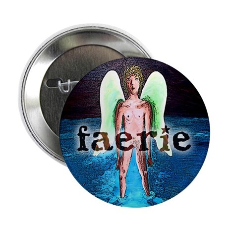 "Water Faery 2.25"" Button (100 pack)"