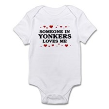 Loves Me in Yonkers Infant Bodysuit