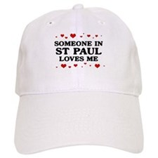 Loves Me in St Paul Baseball Cap