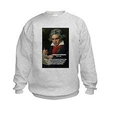 Classical Music: Beethoven Kids Sweatshirt