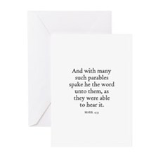 MARK  4:33 Greeting Cards (Pk of 10)