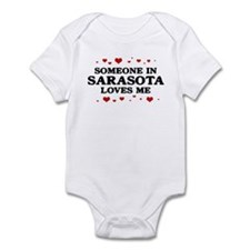Loves Me in Sarasota Infant Bodysuit