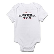 Loves Me in Santa Monica Infant Bodysuit