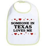Loves Me in Texas Bib
