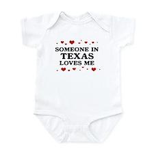 Loves Me in Texas Infant Bodysuit