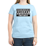 Advisory: American Infidel Women's Pink T-Shirt