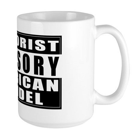 Advisory: American Infidel Large Mug