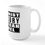 Advisory: American Infidel Large Mug