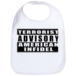 Advisory: American Infidel Bib
