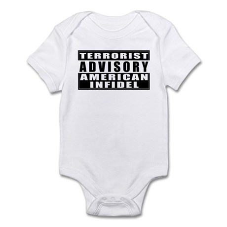 Advisory: American Infidel Infant Creeper