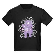 Purple Hippo T