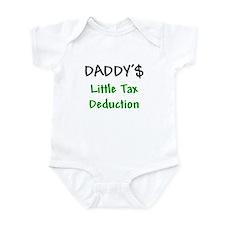 Daddy's Little Tax Deduction Onesie