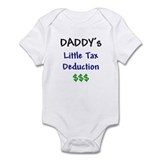 Daddy's Little Tax Deduction Onesie