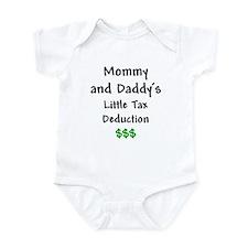 Mommy & Daddy's Little Tax Deduction Infant Bodysu