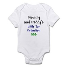 Mommy & Daddy's Little Tax Deduction Infant Bodysu