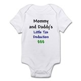Mommy &amp; Daddy's Little Tax Deduction Infant Bodysu