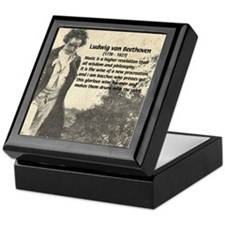 Ludwig van Beethoven Keepsake Box