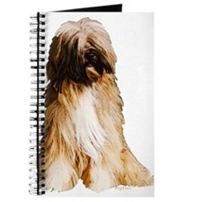 Tibetan Terrier portrait Journal
