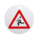 Attention Waiters, Austria Ornament (Round)